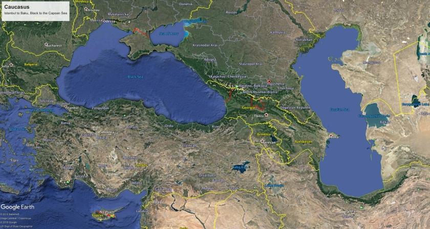 Caucasus 2 Map